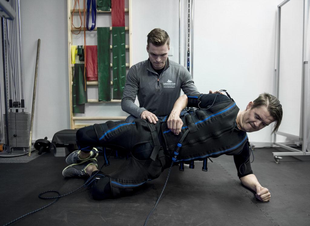 E-fit genoptrænings behandlingsbillede